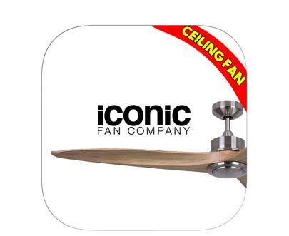Iconic 風扇燈 吊扇燈 LED Ceiling Fan