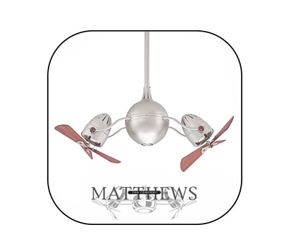 Matthews 風扇燈 吊扇燈 LED Ceiling Fan